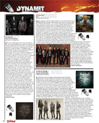 Dynamit Review in Rock Hard Italy