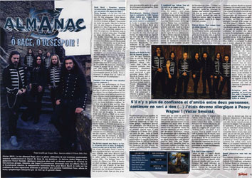 Album of the month in Rock Hard France