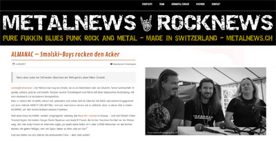 Metalnews Switzerland